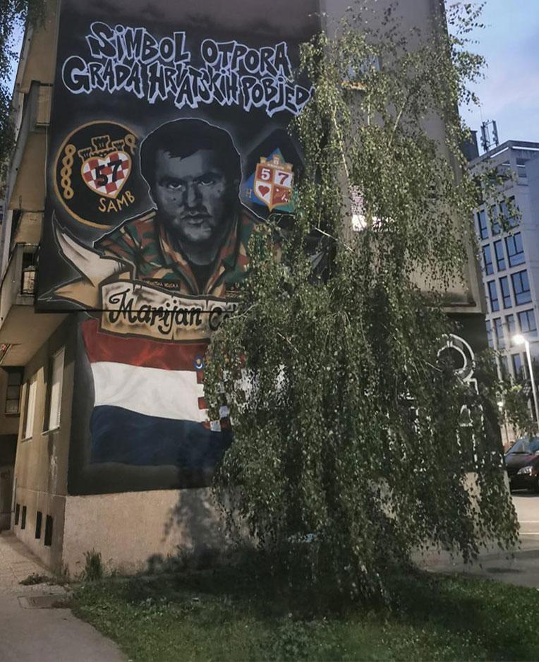 Mural Marijan Celjak.