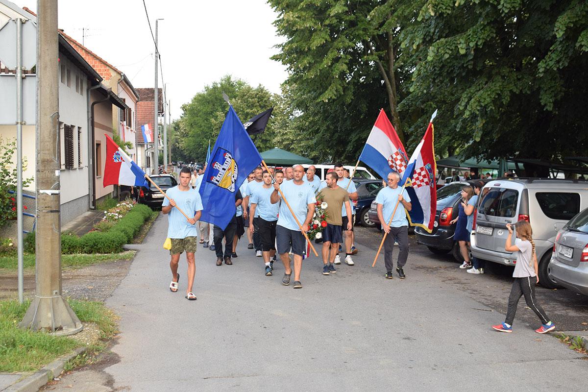 18. spust hrvatskih branitelja Unom