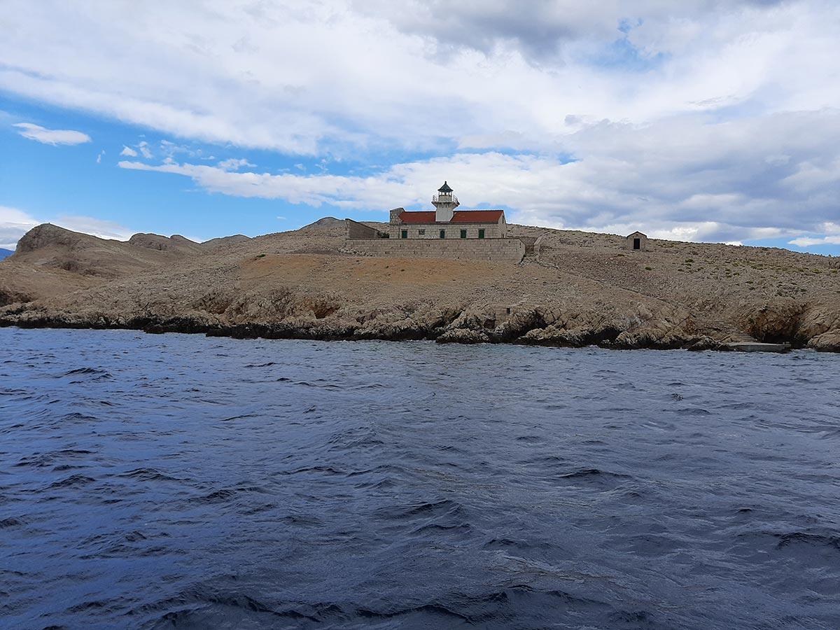 Posjet Golom otoku i otoku Sveti Grgur