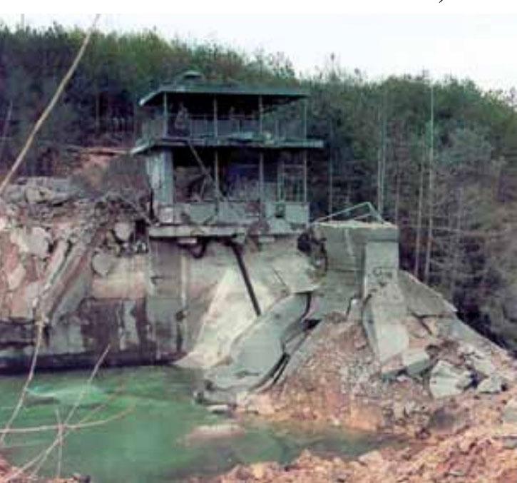 Uništena brana Peruća 1993.godine