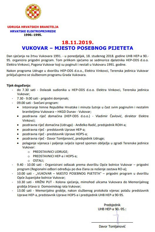 Program Vukovar